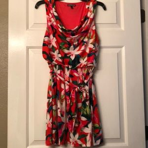Floral size small Express dress